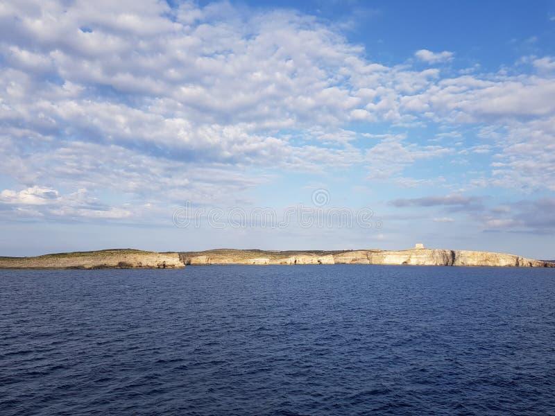 Pics Seascape в Мальте стоковые изображения rf