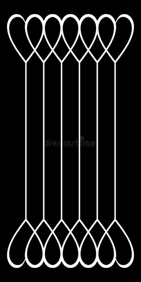 Picsartbekledingen Document, tijdschriften stock illustratie
