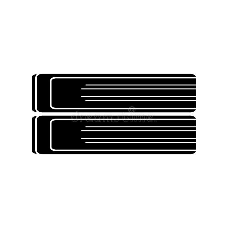 pictogram för bild för buntbokskola vektor illustrationer