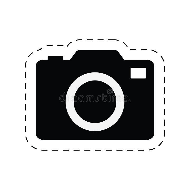 pictogram för exponering för bild för kamerafotobild vektor illustrationer
