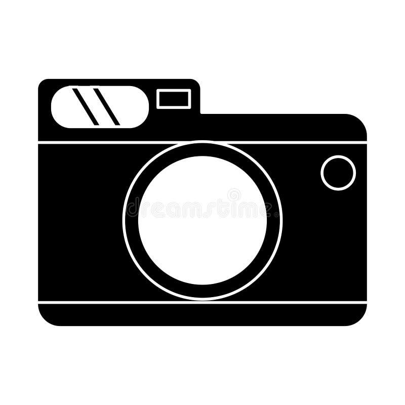 pictogram för lopp för fotokamerabild vektor illustrationer