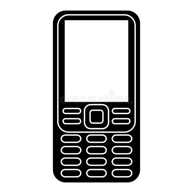 pictogram för mobil teknologi för smartphone retro stock illustrationer