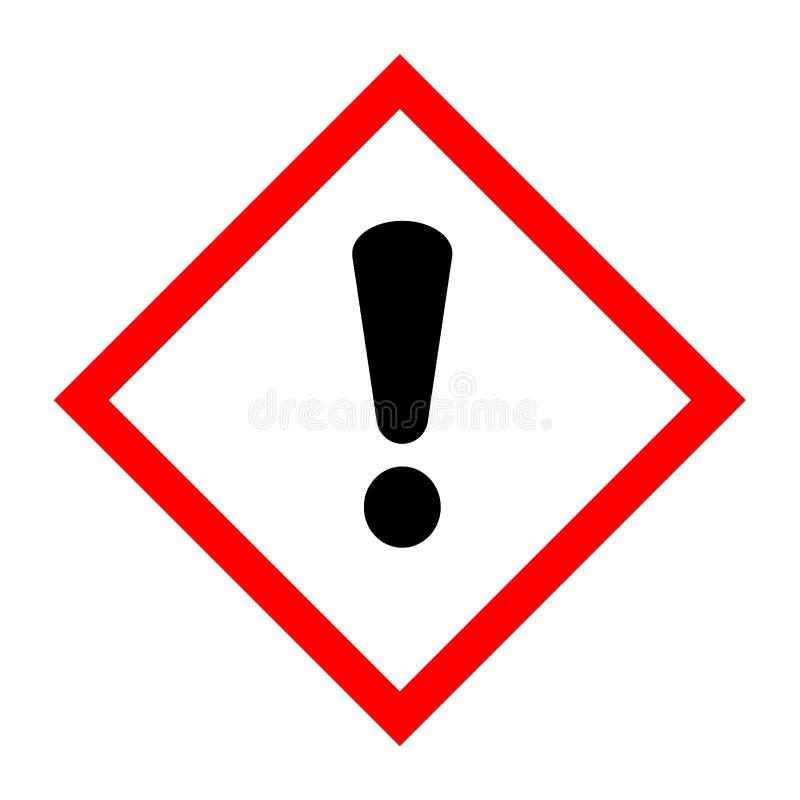 Pictogram for hazardous substances. With a white background vector illustration