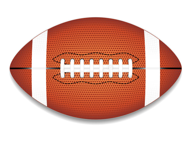 Pictogram het Amerikaanse van de Voetbal (NFL) stock illustratie