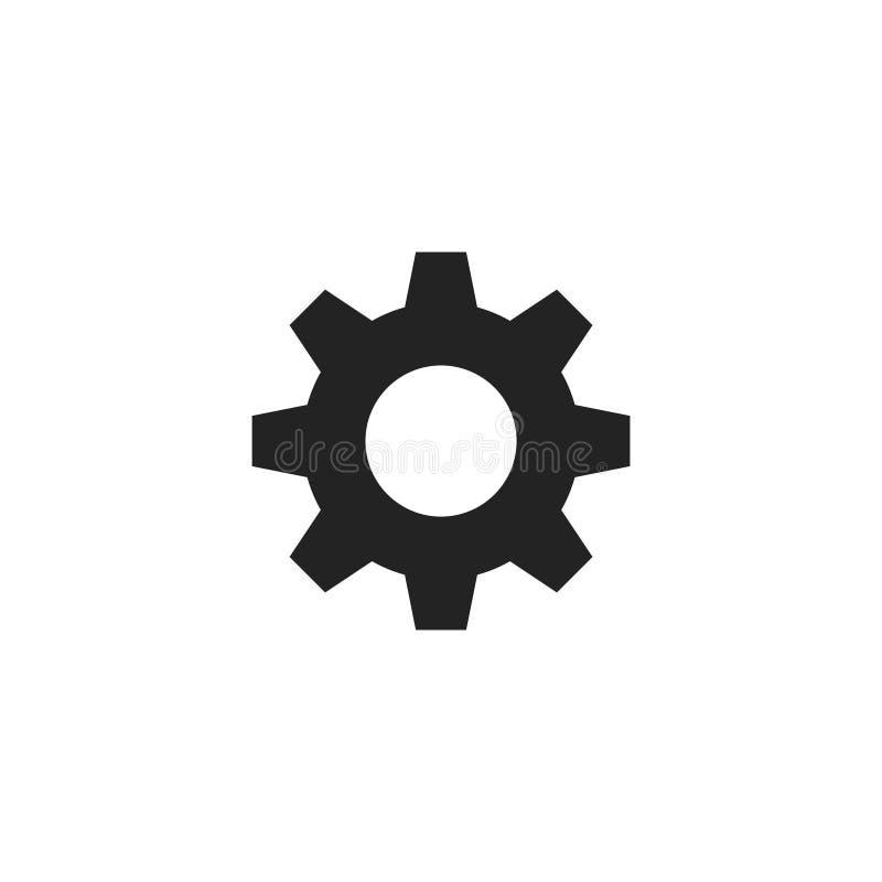 Pictogram, het Symbool of het Embleem van toestelglyph het Vector royalty-vrije illustratie