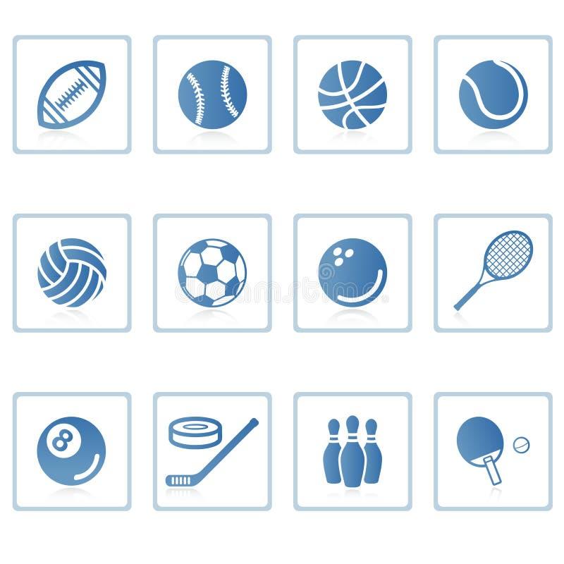Pictogram I van sporten royalty-vrije illustratie
