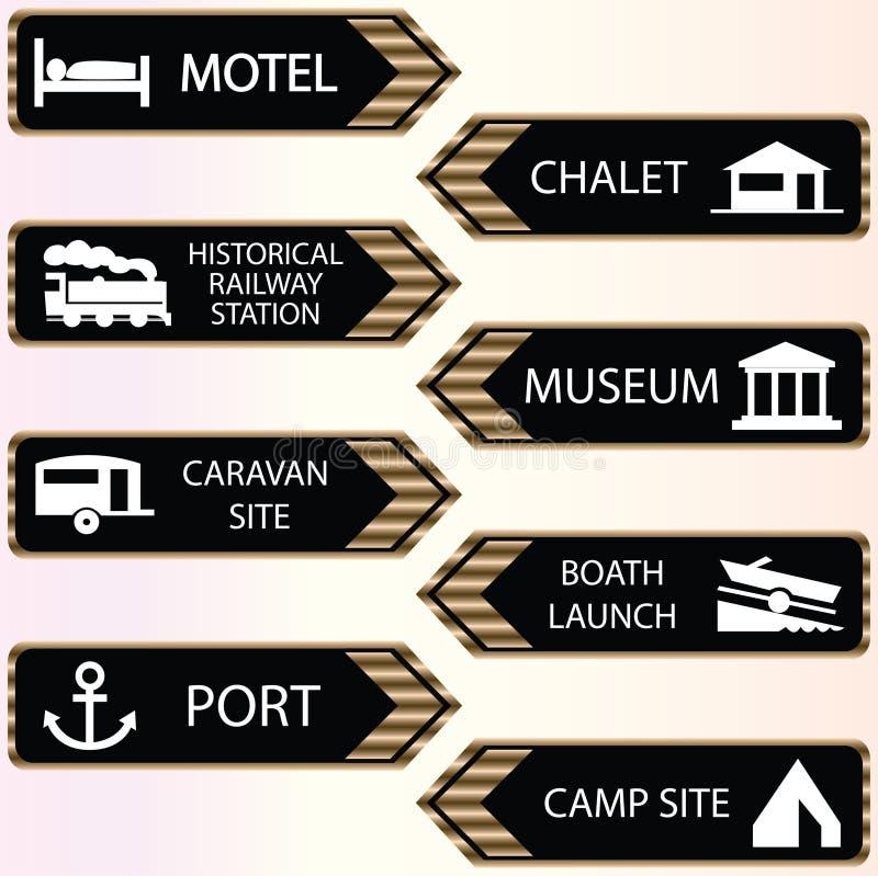 pictogram reeks royalty-vrije illustratie