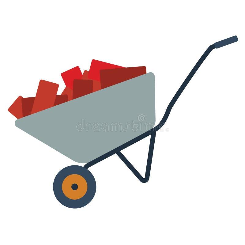 Download Pictogram van bouwkar vector illustratie. Illustratie bestaande uit lading - 107703060