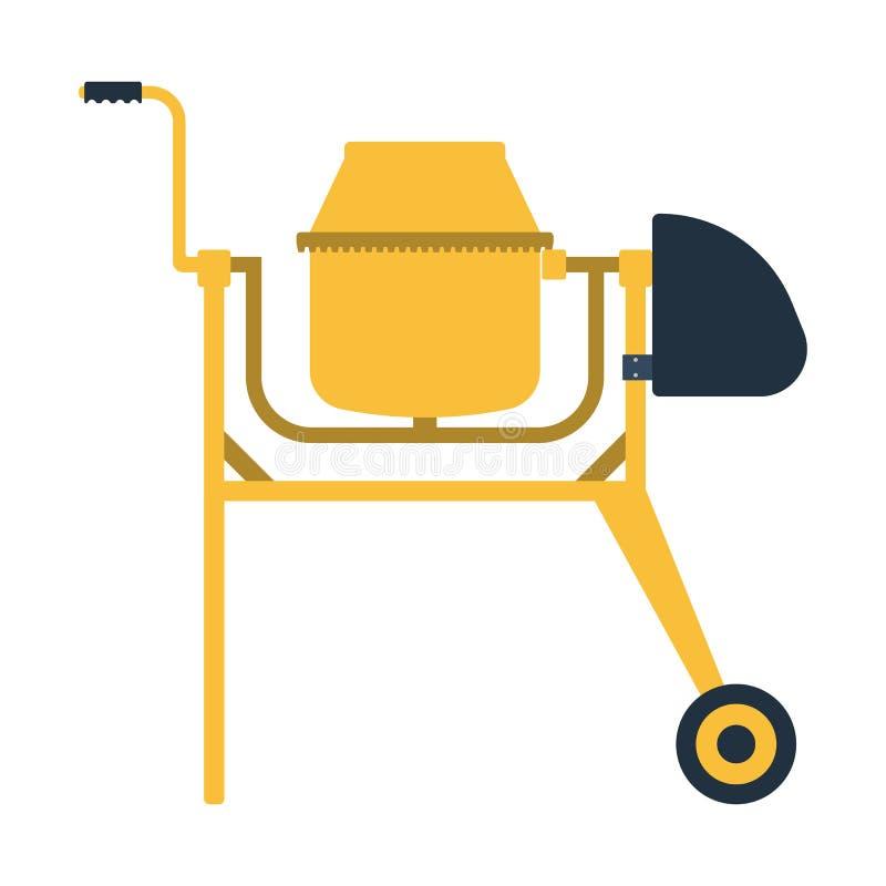 Download Pictogram Van Concrete Mixer Vector Illustratie - Illustratie bestaande uit ontwerp, machine: 107703145