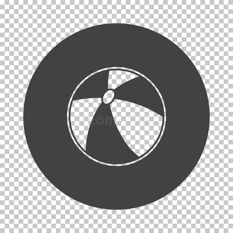 Pictogram van de baby het rubberbal stock illustratie