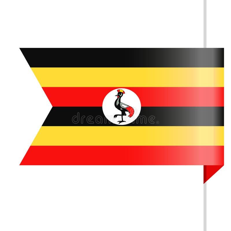 Download Pictogram Van De De Vlag Het Vectorreferentie Van Oeganda Stock Illustratie - Illustratie bestaande uit knoop, genaturaliseerd: 107703260