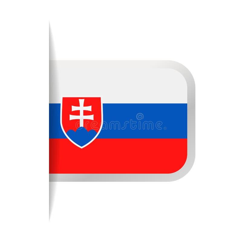 Download Pictogram Van De De Vlag Het Vectorreferentie Van Slowakije Stock Illustratie - Illustratie bestaande uit knoop, referentie: 107702847
