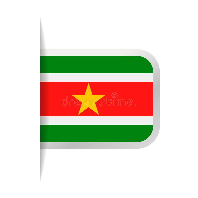 Download Pictogram Van De De Vlag Het Vectorreferentie Van Suriname Stock Illustratie - Illustratie bestaande uit onafhankelijkheid, verkiezing: 107703111