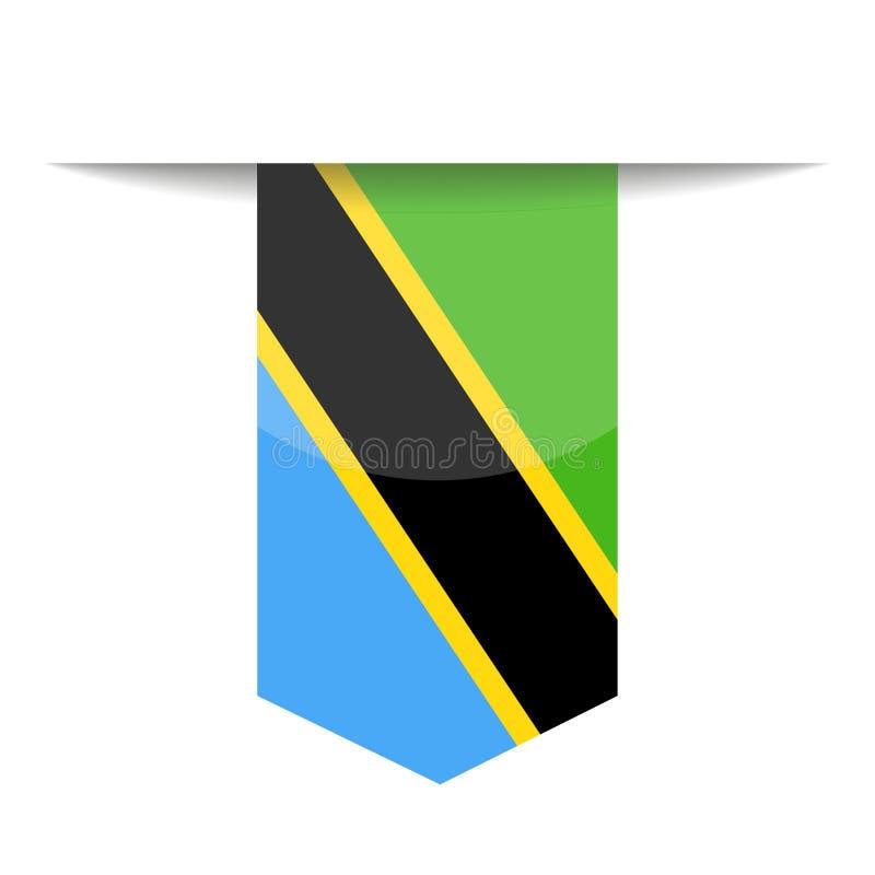 Download Pictogram Van De De Vlag Het Vectorreferentie Van Tanzania Stock Illustratie - Illustratie bestaande uit onafhankelijkheid, beeldverhaal: 107703176
