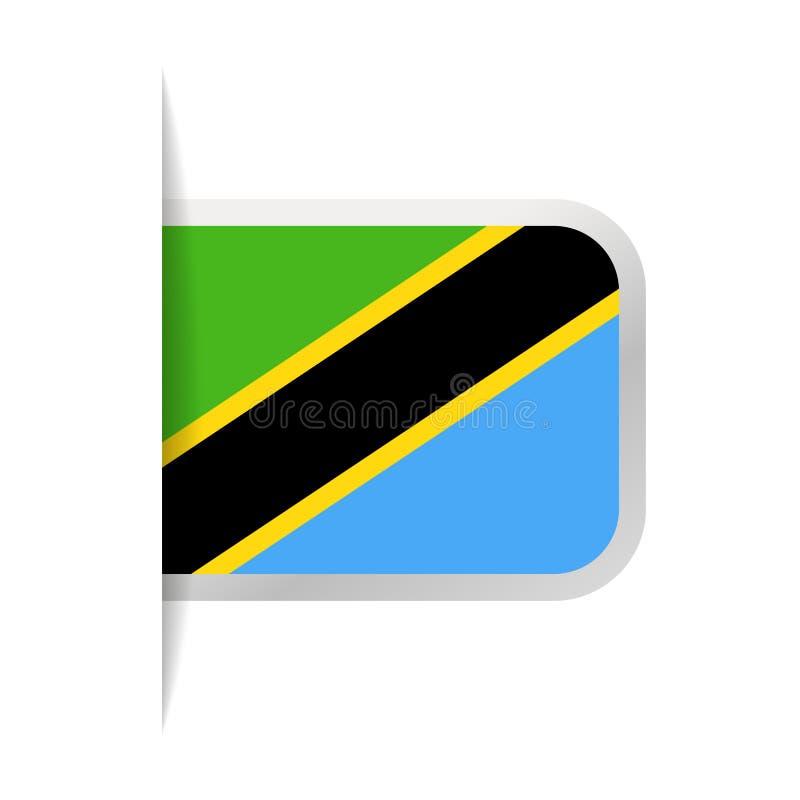 Download Pictogram Van De De Vlag Het Vectorreferentie Van Tanzania Stock Illustratie - Illustratie bestaande uit vlag, reis: 107703204