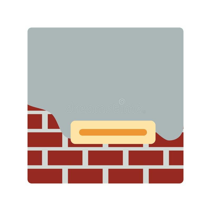 Download Pictogram Van Gepleisterde Bakstenen Muur Vector Illustratie - Illustratie bestaande uit creatief, beeld: 107703412