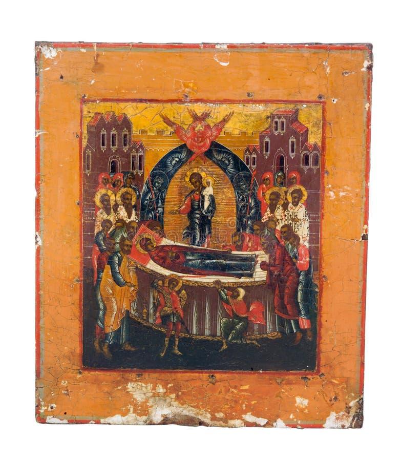 Pictogram van Orthodoxe Kerk stock afbeelding