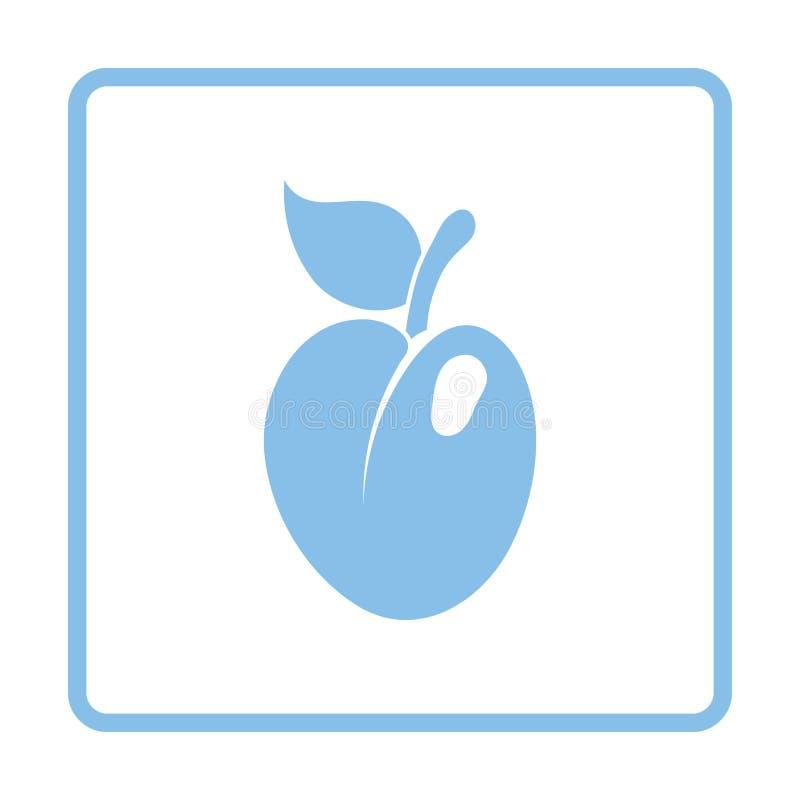 Pictogram van Pruim stock illustratie