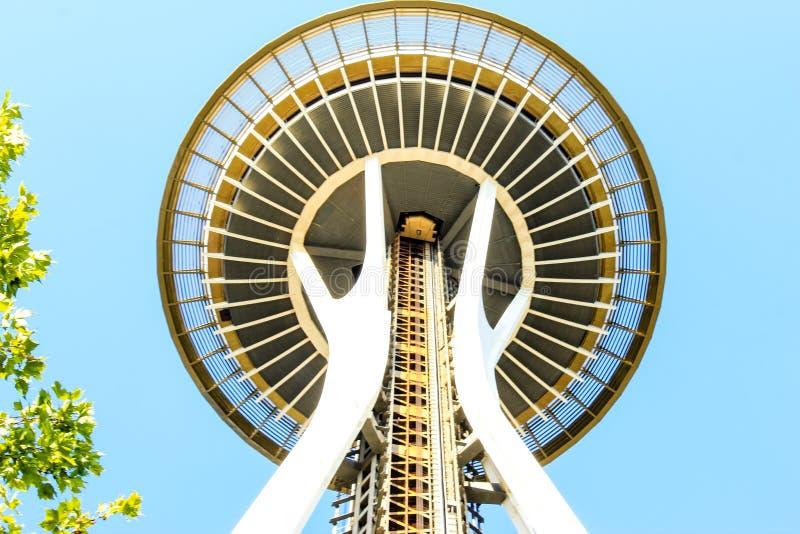 Pictogram van Seattle - Ruimtenaald stock afbeelding