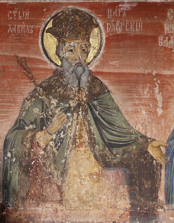 Pictogram van St. David stock fotografie