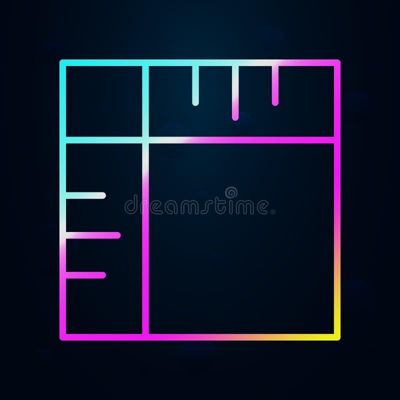 pictogram voor redactie en gewas nolan Eenvoudige dunne lijn, omlijnde vector van de pictogrammen van het Ontwerp Editorial voor  vector illustratie