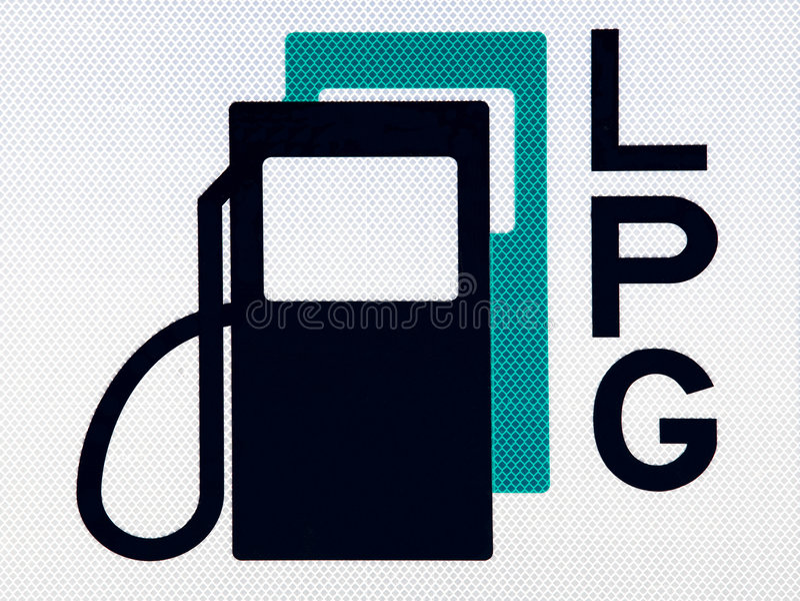 Pictograma del combustible fotos de archivo