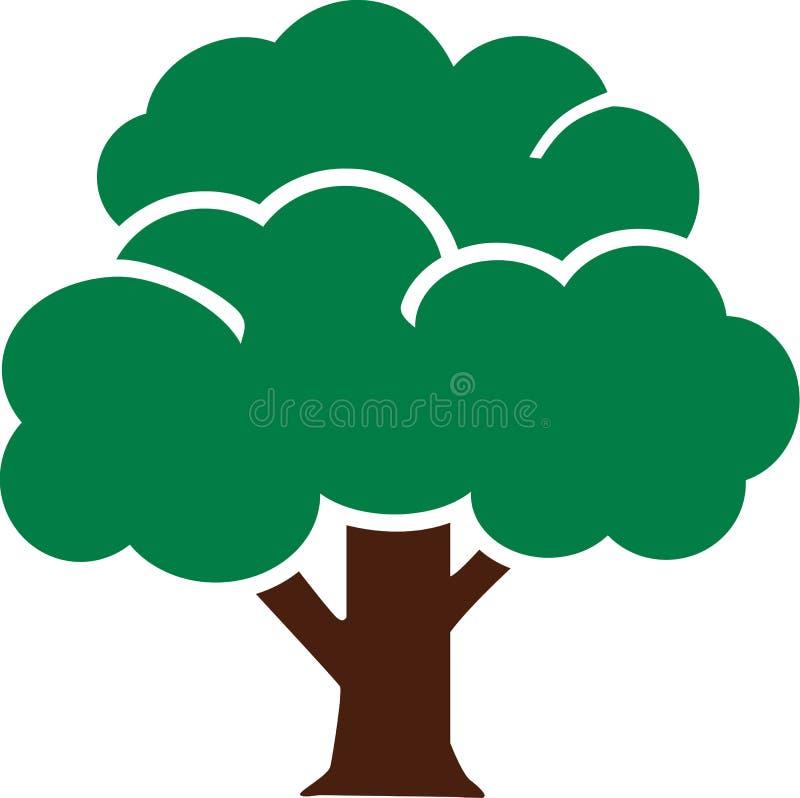 Pictograma del icono del árbol libre illustration