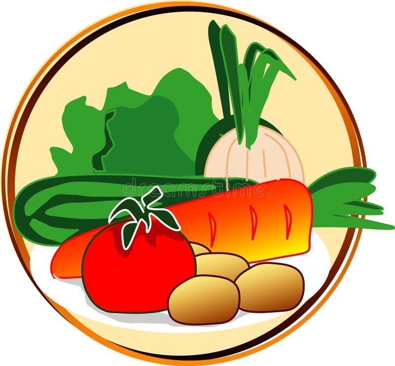 Download Pictograma - vegetais ilustração stock. Ilustração de círculo - 538642
