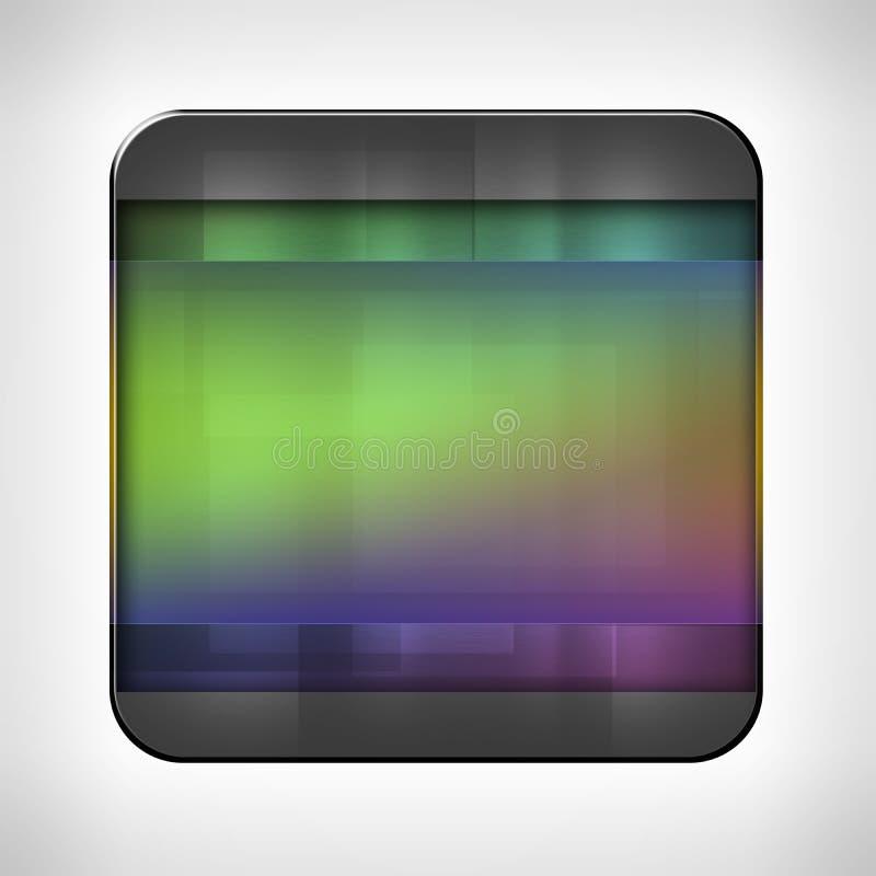 Pictogrammalplaatje voor toepassingen vector illustratie