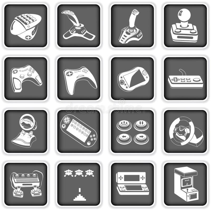 Pictogrammen 4 van de computer vector illustratie