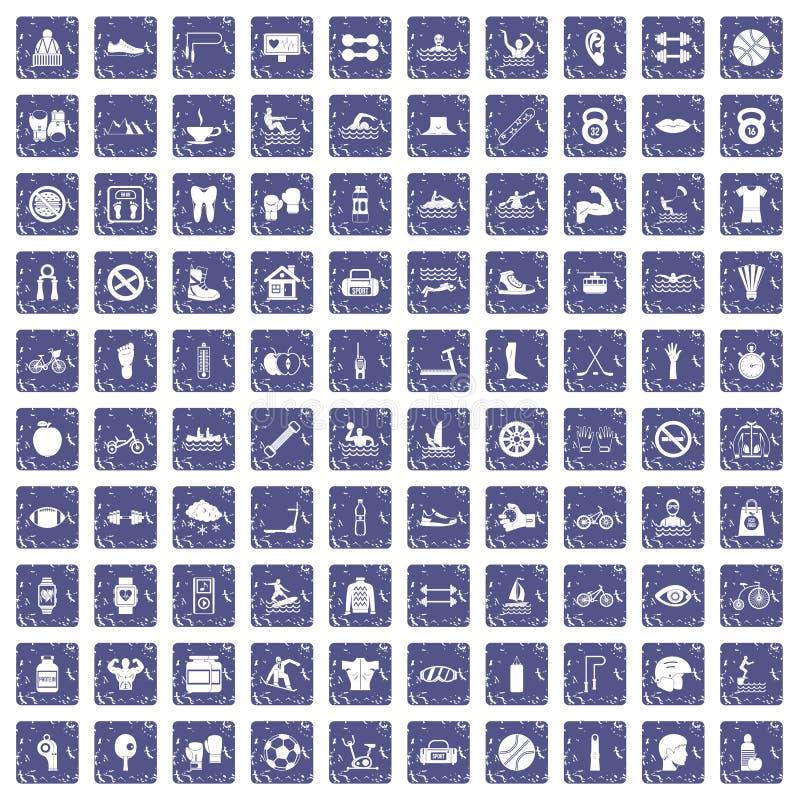 Download 100 Pictogrammen Van De Mensengezondheid Geplaatst Grunge Saffier Vector Illustratie - Illustratie bestaande uit reeks, schalen: 107707336