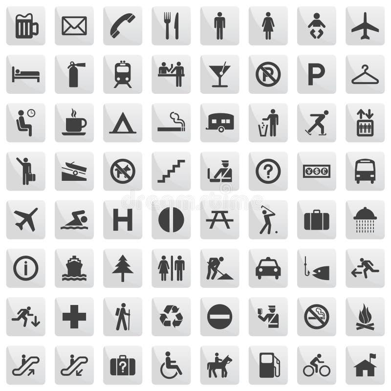 pictogrammes illustration libre de droits