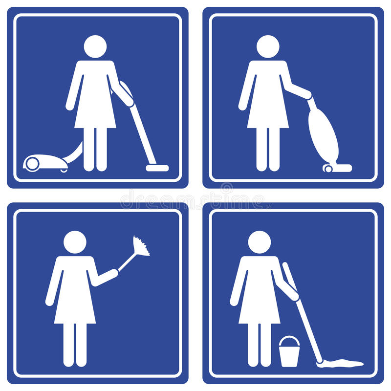 Pictograph - cleaning