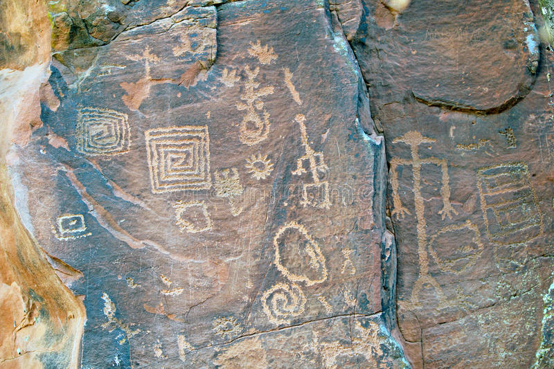 Pictographs royalty free stock images