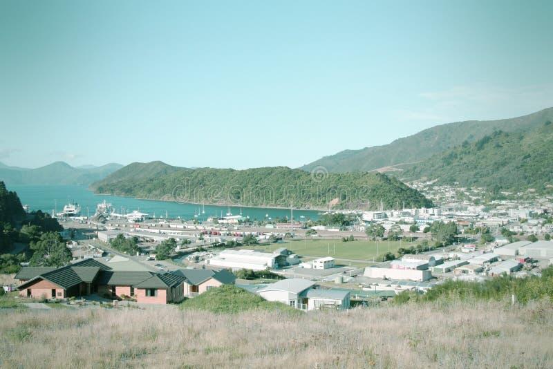 Picton, Nowa Zelandia obrazy stock