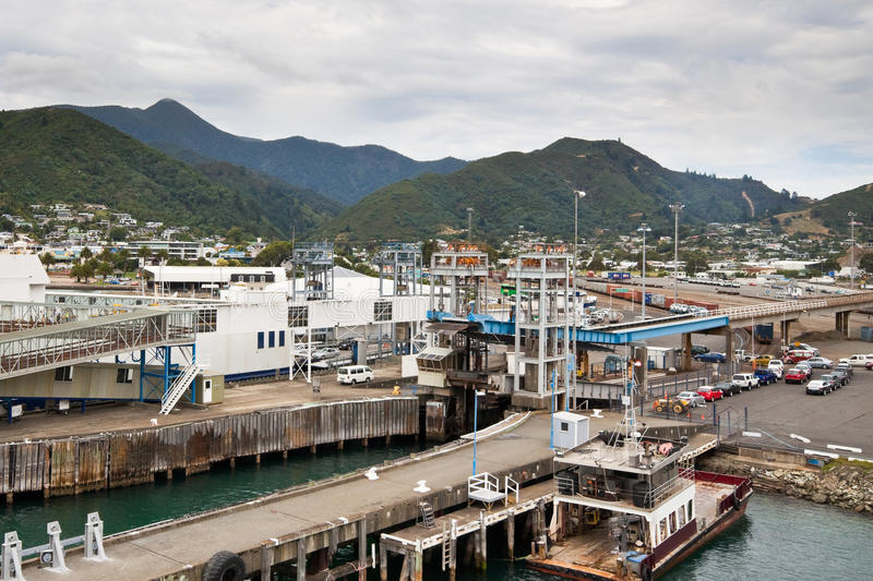 picton nowy port Zealand obrazy royalty free