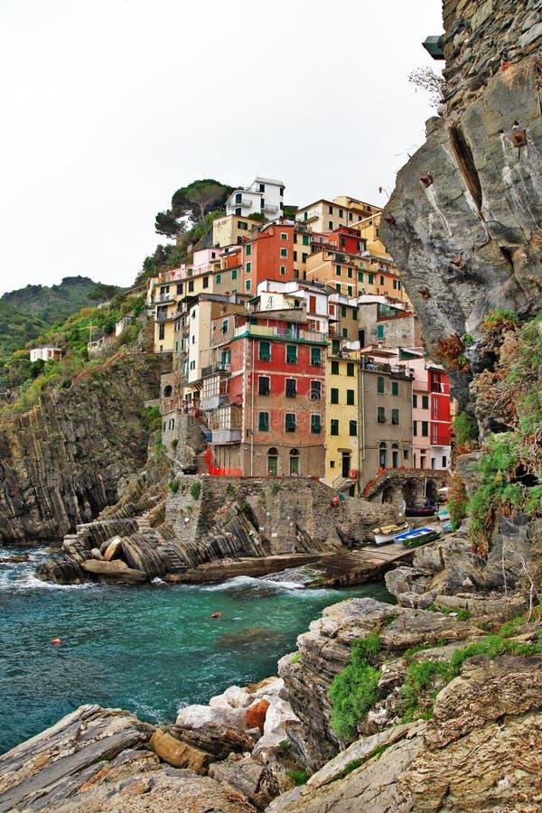 Pictorial Ligurian coast royalty free stock image