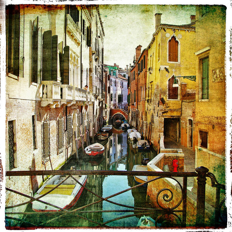 Free Pictorial Venice Stock Images - 12163414