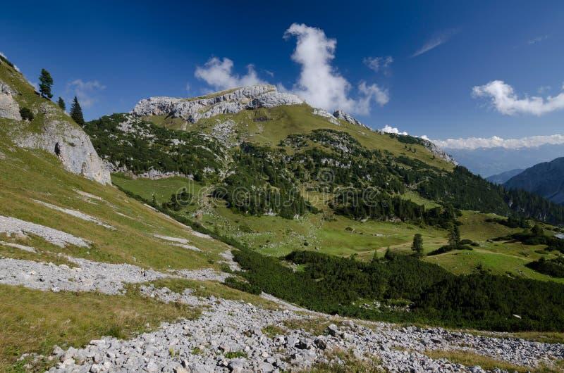 Haidachstellwand peak in Rofan Alps, The Brandenberg Alps, Austria, Europe stock photos