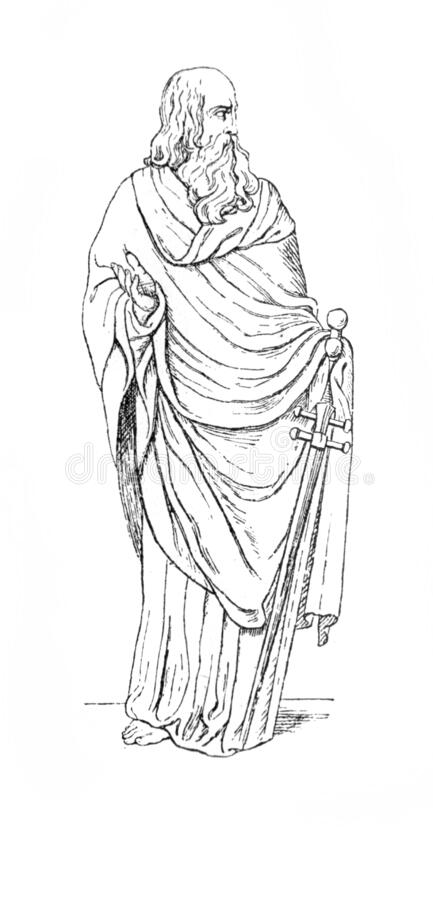 Saints Peter and Paul coloring page: June 29th – Catholic Playground | 900x433
