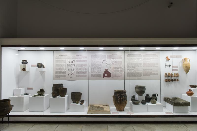 Archaeological Museum in Burgas, Bulgaria royalty free stock photo