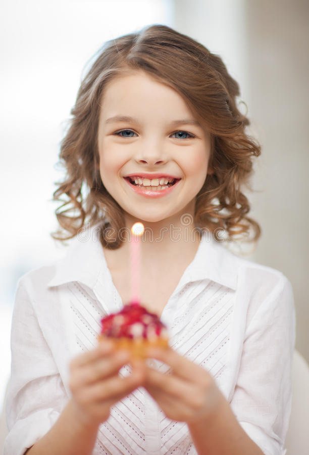 Download Girl With Cupcake Royalty Free Stock Image - Image: 29751966