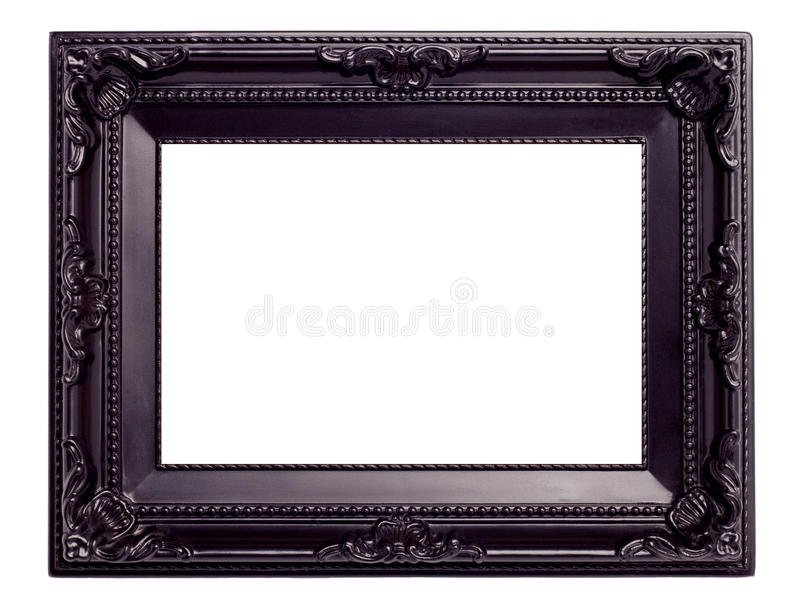 Download Picture Black Frame With A Decorative Pattern Stock Illustration - Image: 18402384
