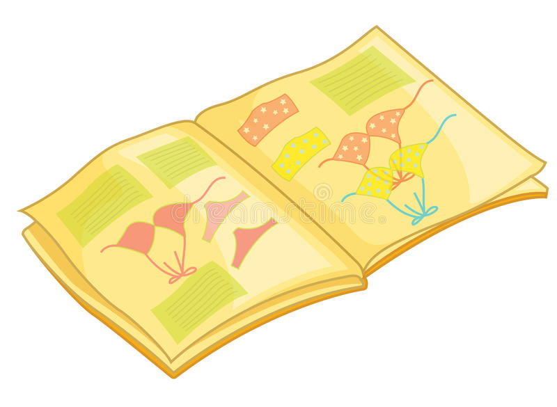 Picture book stock illustration