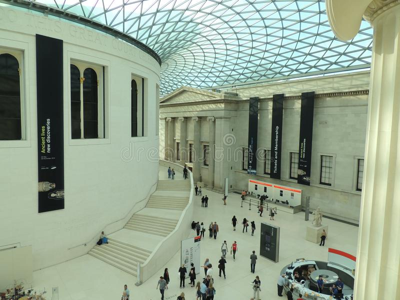 British museum - London city royalty free stock images