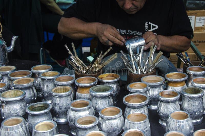 Feria de mataderos buenos aires argentina royalty free stock photography
