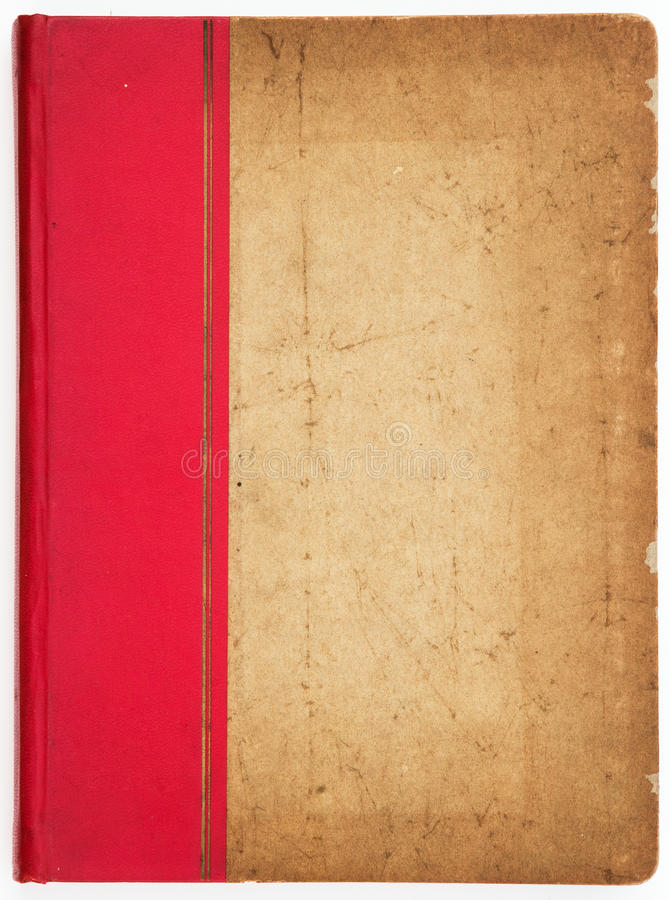 Antique Book Cover Paper : Antique book cover stock image of scratch paper
