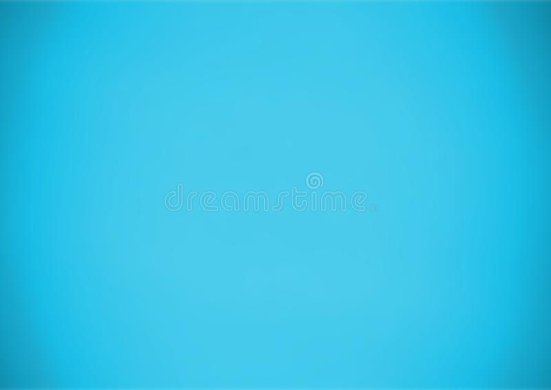 Dark and light blue gradient background. Picture of a dark and light blue gradient background royalty free stock image