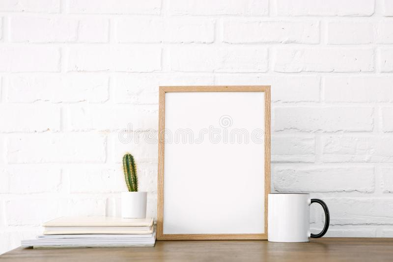 Loft modern room picture free cup background royalty free stock photography