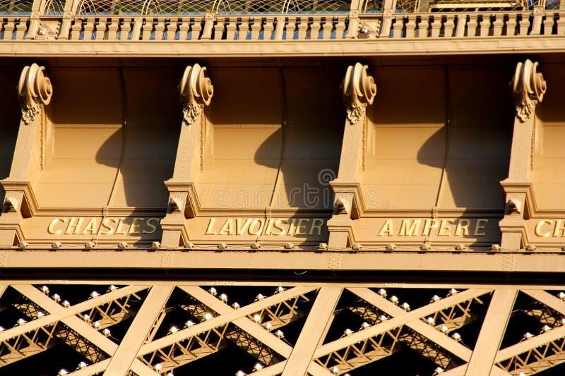 Eiffel Tower of Paris France stock images